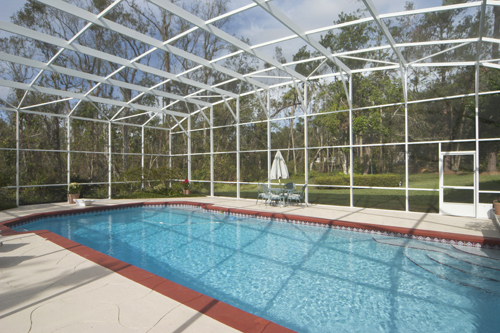 Swimming Pool Enclosure Installation by Sunrooms Express Knoxville