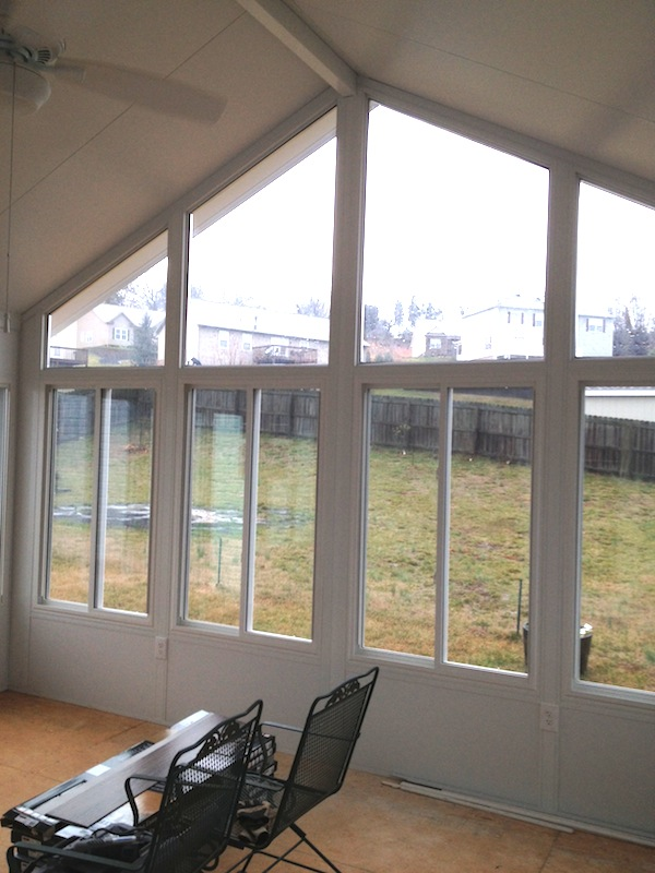 Windows Installed by Sunrooms Express Knoxville