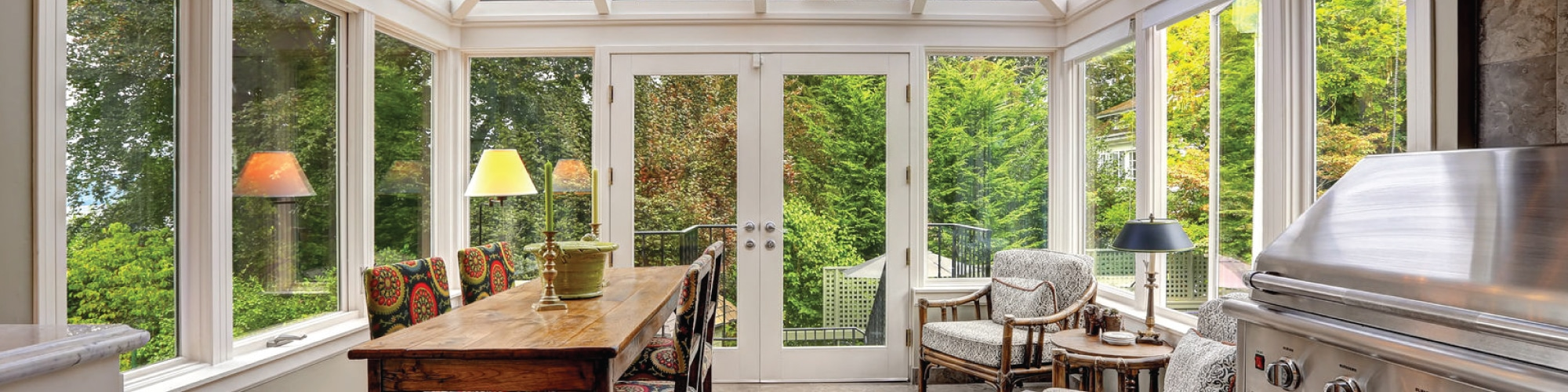 Heat Up Your Sunroom This Winter With These Techniques